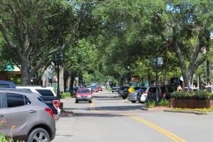 View of downtown Fernandina