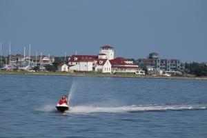 Approach to Ocracoke Island