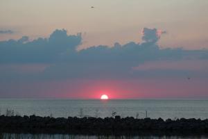 Sunset from Ocracoke Island