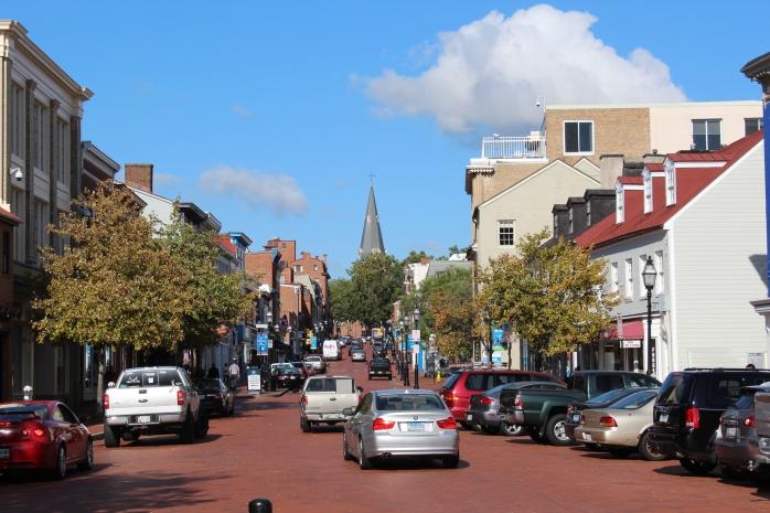 A look up Main Street