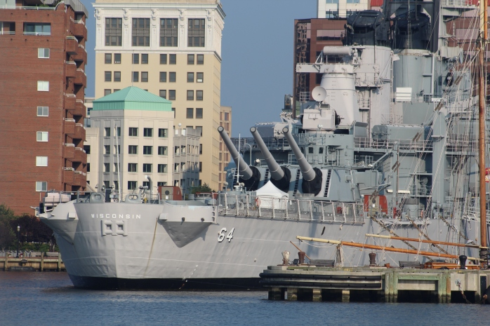 USS Wisconsin in Norfolk