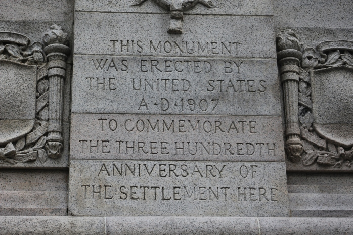 Monument at Jamestown