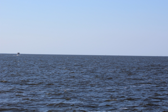 Mile 70 - in Abemarle Sound