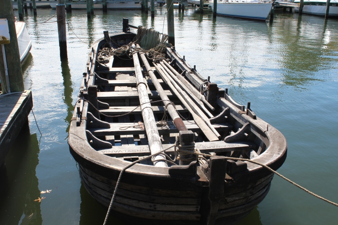 Replica boat for crew of 12