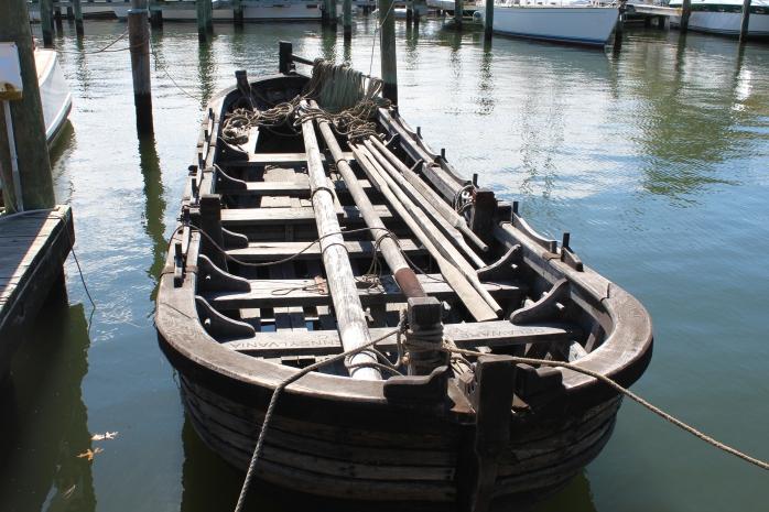 Replica boat for crew of 12