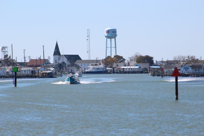 Entrance to Tangier Island