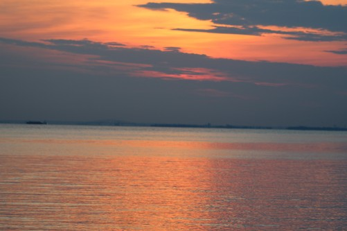 IMG_0067, sunset over Baltimore