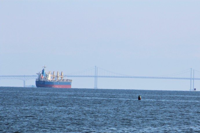 46 five miles out from Bay Bridge
