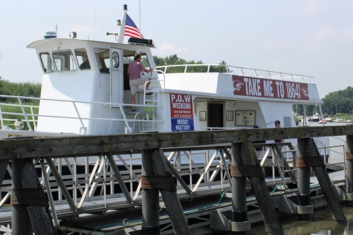 64 Ferry to Fort Delaware