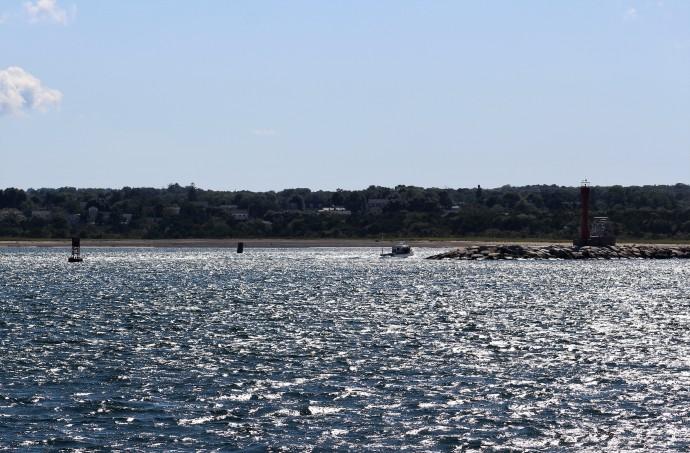 8 Enter Cape Cod Canal