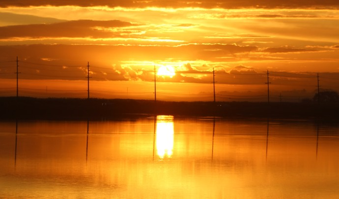 3 Sunrise Salem River