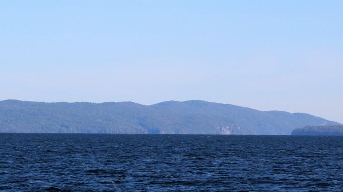 34 10 mile fetch on Lake Champlain
