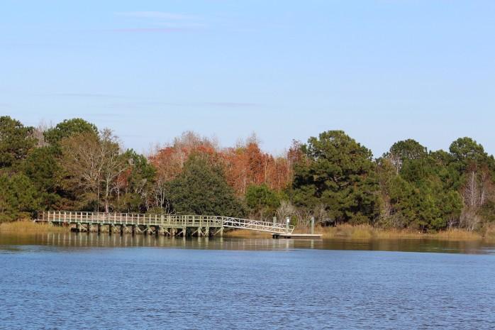14 Anchored in South Edisto Creek