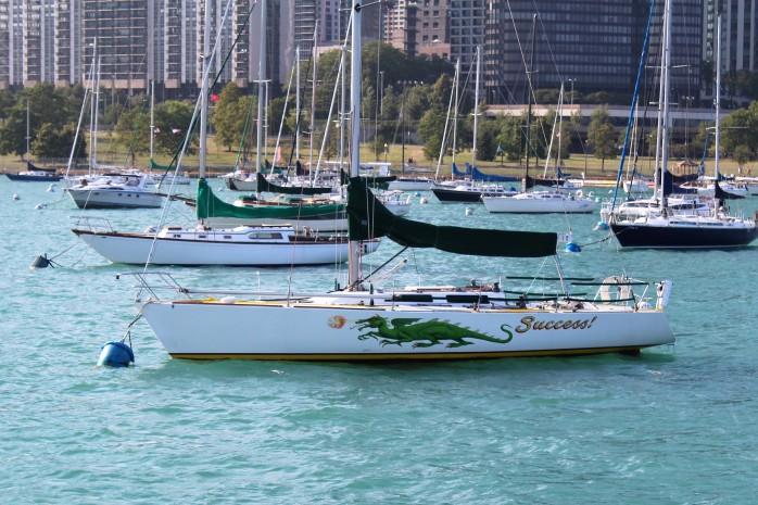 45 Sailboat