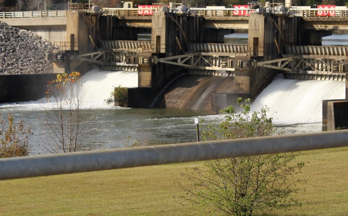 8 Flow out Fulton Dam