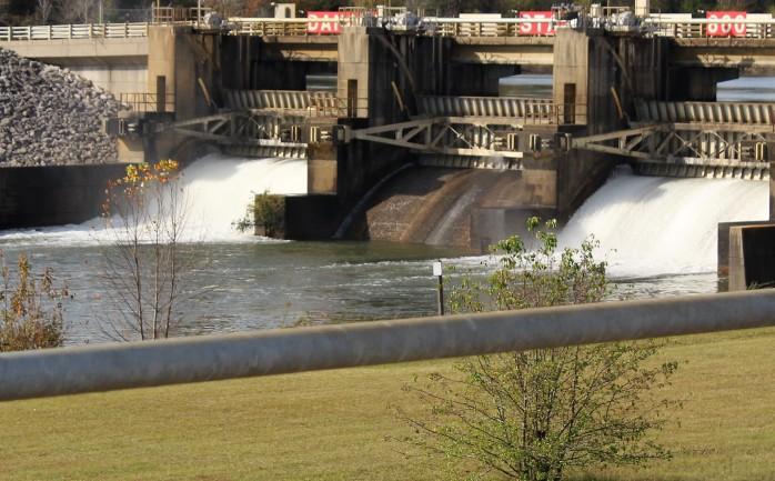 8 Flow out Fulton Dam