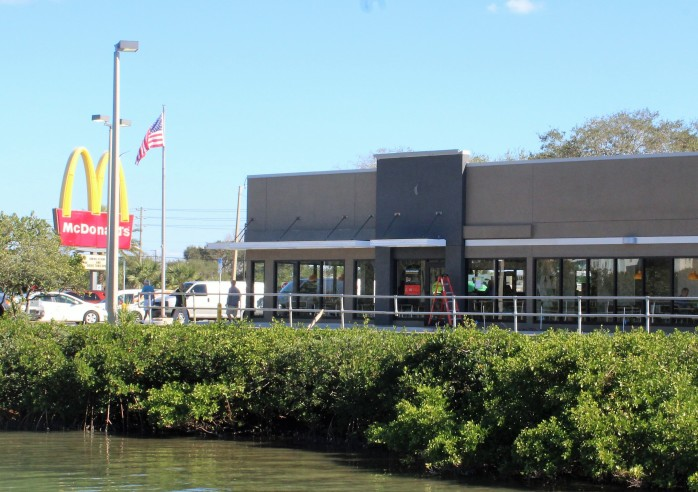 4 dock & dine at mcdonalds