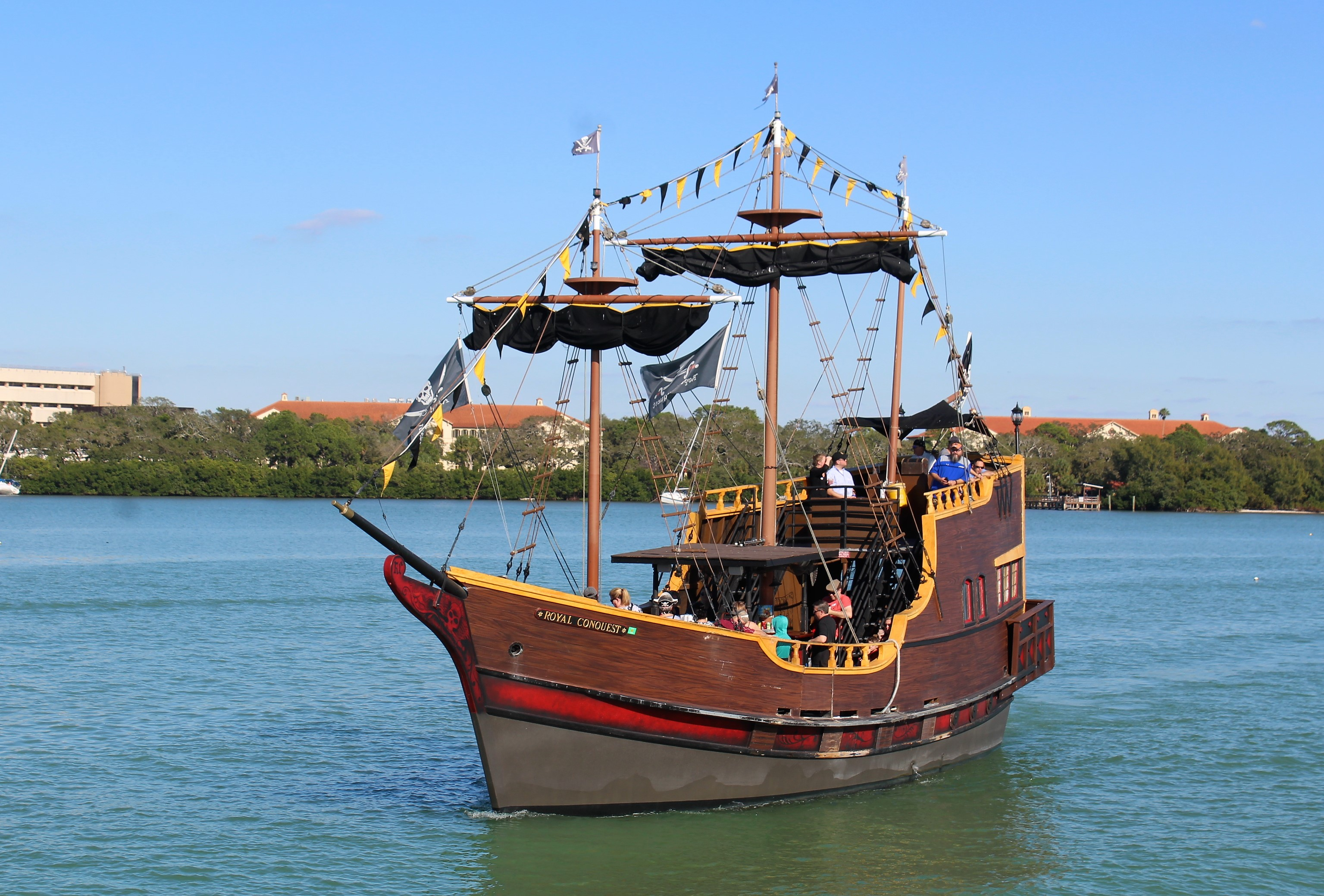 5 pirate ship