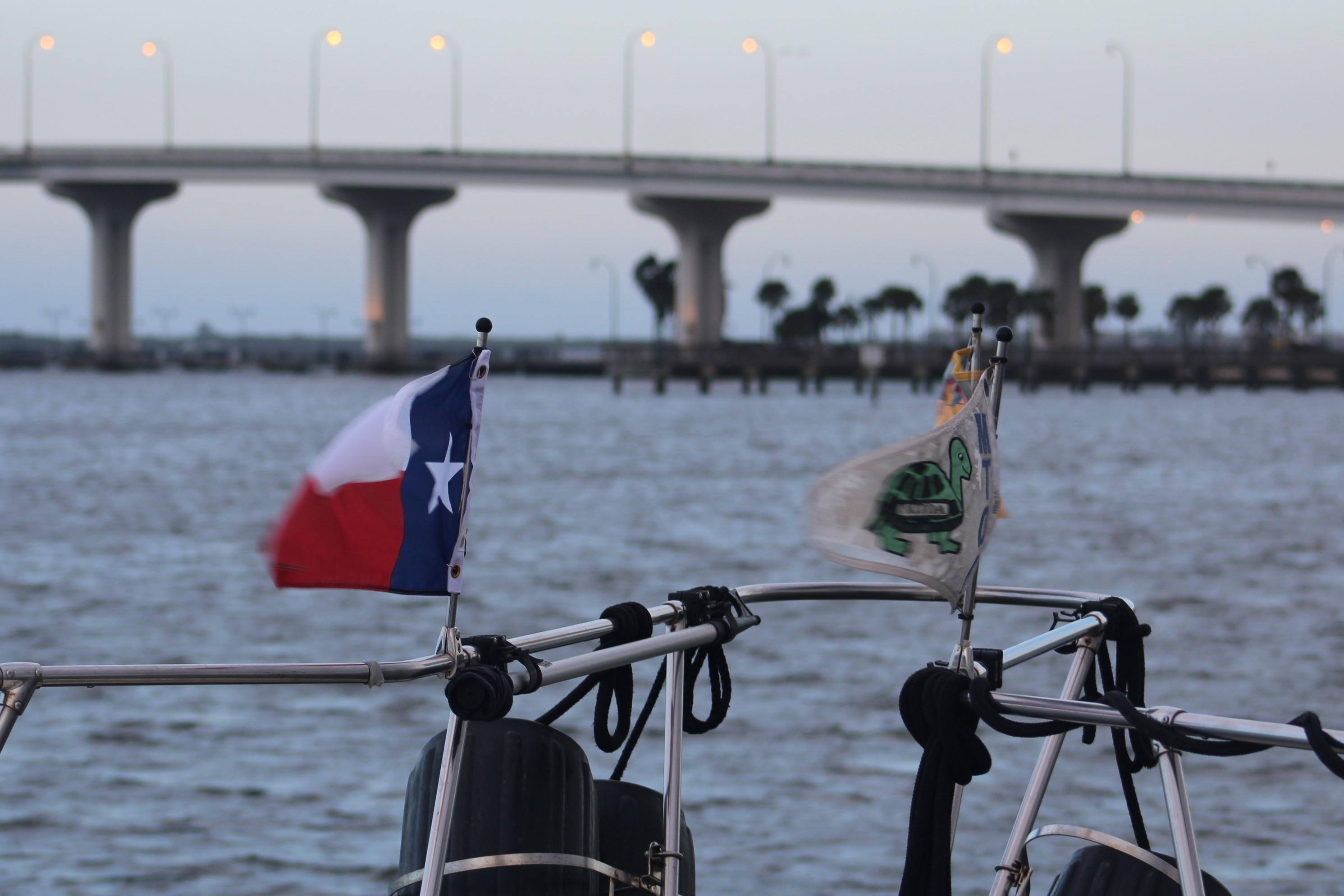 17 Anchored at Jenson Beach Bridge
